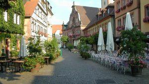 Gemütliche Altstadt von Ettlingen